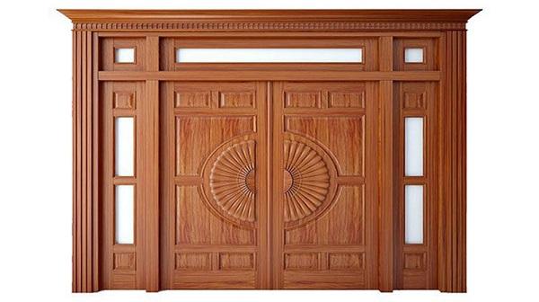 Cách tính kích thước cửa chính 4 cánh không bằng nhau