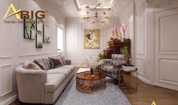 Đơn vị thiết kế nội thất biệt thự tân cổ điển
