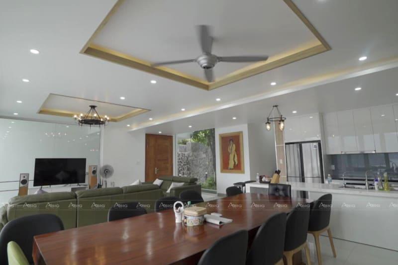 quy trình hoàn thiện nội thất nhà xây thô