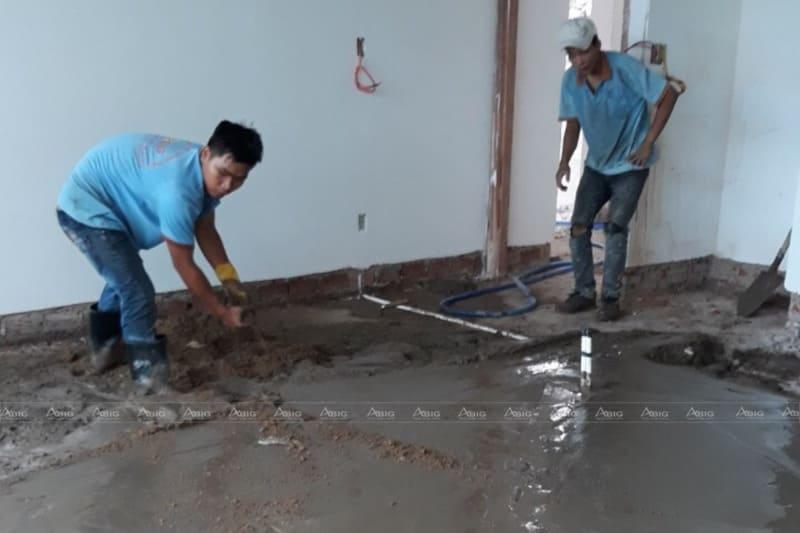 quy trình thi công hoàn thiện nhà xây thô