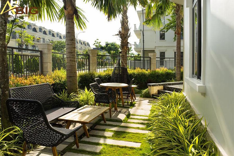 biệt thự vườn thường có sự kết hợp, giao thoa hài hòa giữa các lối kiến trúc và thiên nhiên.