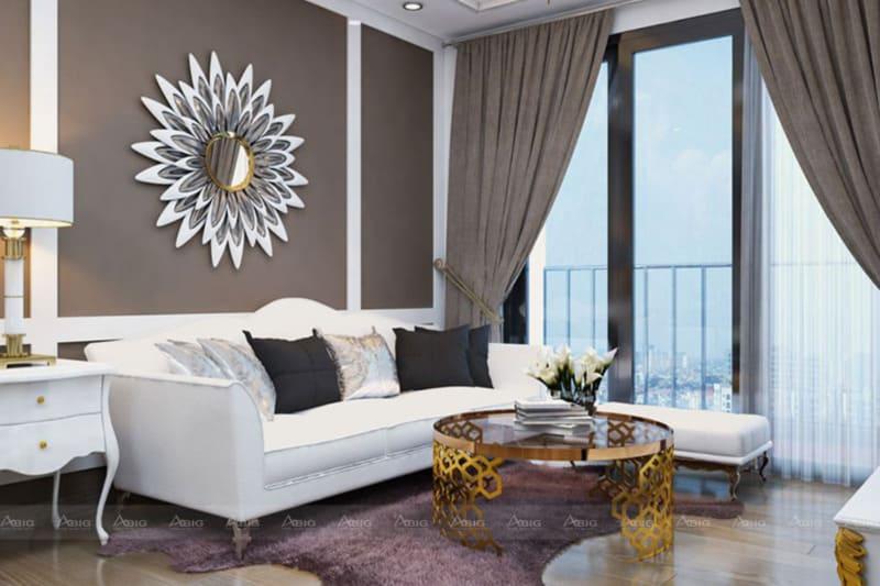 các chi tiết của nội thất được chạm khắc tỉ mĩ chi tiết