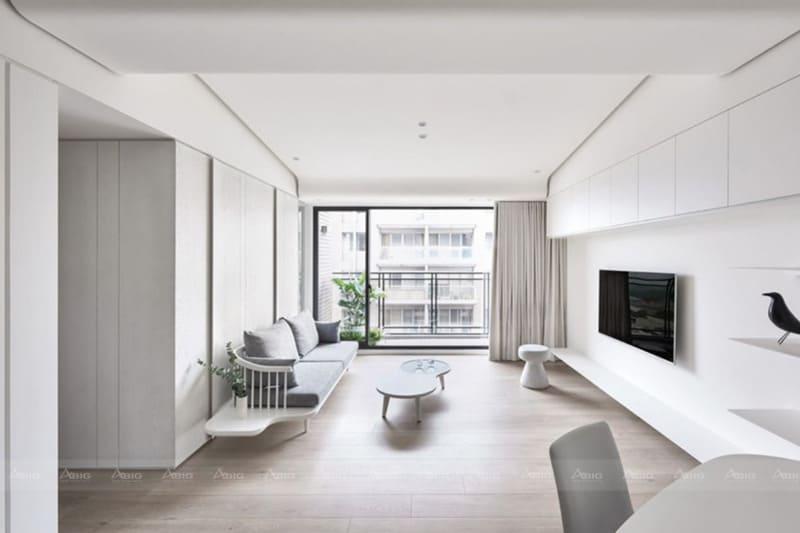 phong cách thiết kế nội thất căn hộ chung cư hiện đại
