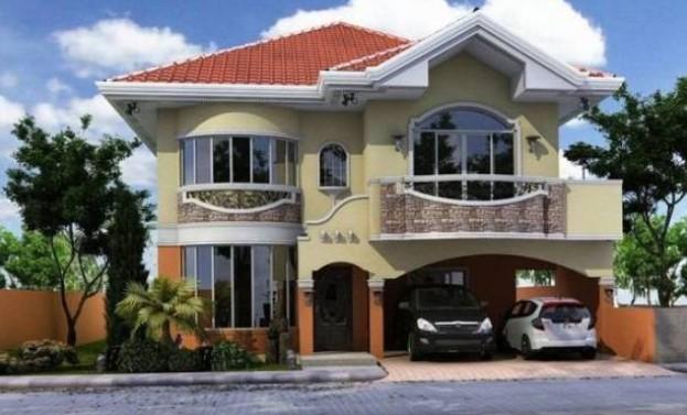 Biệt thự mini 2 tầng mái thái