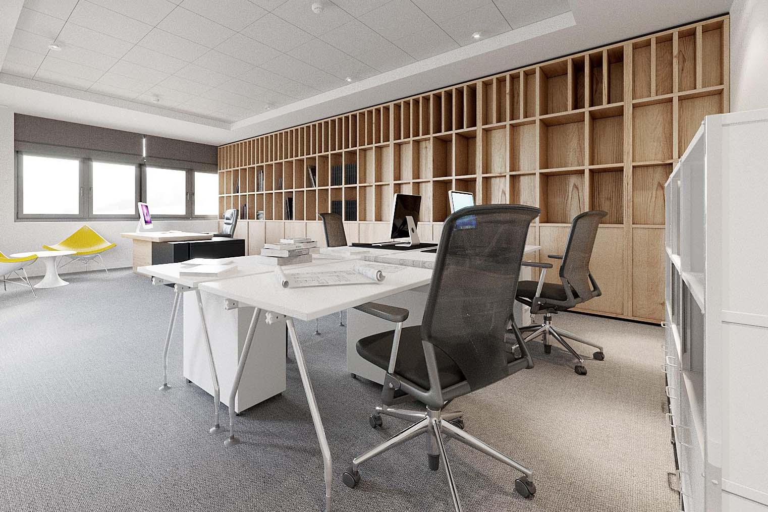 Công ty thiết kế văn phòng Nhân Đạt