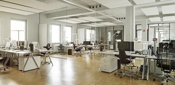 Hình mẫu thiết kế văn phòng 100m2 lý tưởng cho năm 2021