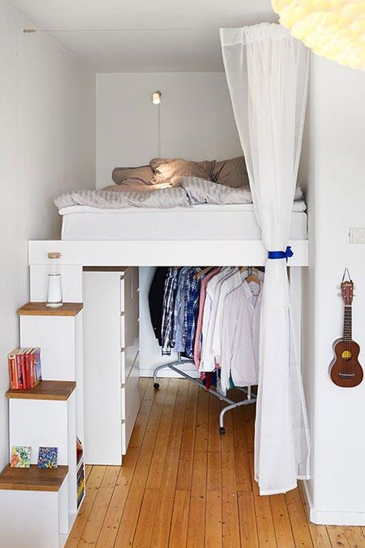 Phong cách thiết kế phòng ngủ độc đáo và đầy tiện ích