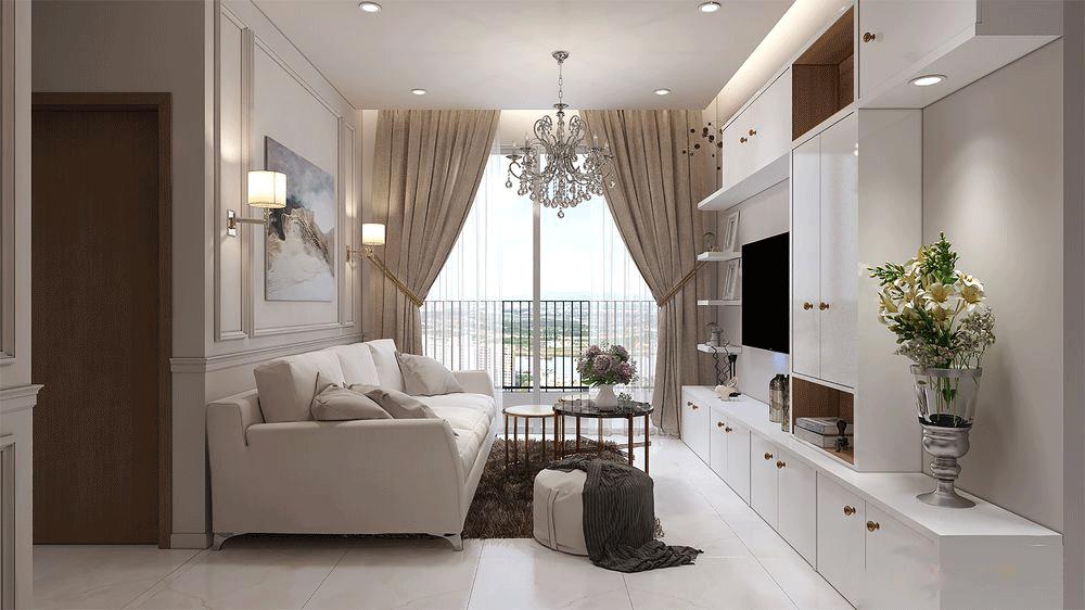 Lưu ý khi thiết kế nội thất cho chung cư