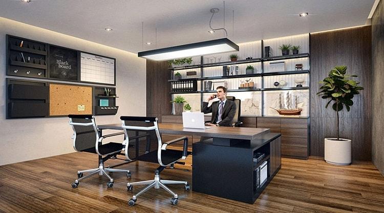 Các yếu tố cần đảm bảo khi thiết kế nội thất phòng giám đốc