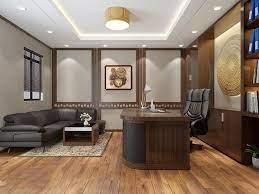 Diện tích phòng sếp nhỏ thì cần chọn nội thất tương xứng