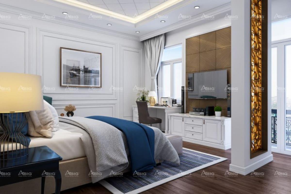 thi công nội thất hoàn thiện cho phòng ngủ