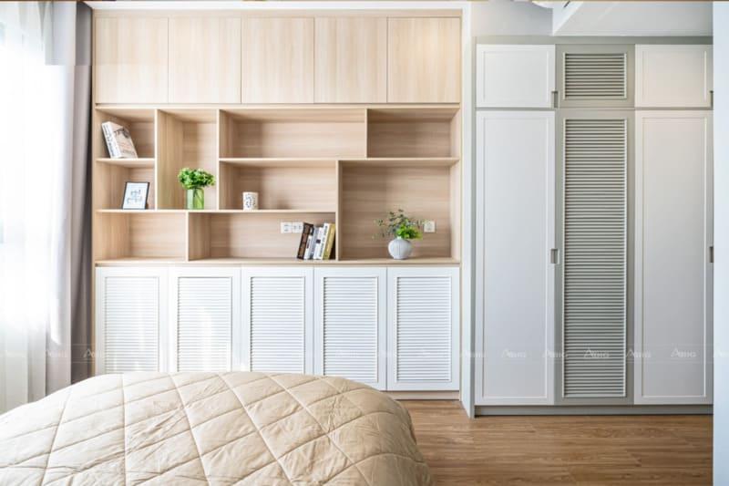 các chi tiết nội thất đơn giản tinh tế và thanh thoát