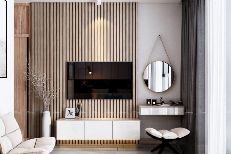 các đường cong nội thất hiện đại quyến rũ trong thiết kế phòng ngủ