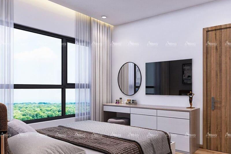 các phòng ngủ đều được thiết kế tràn ngập ánh sáng tự nhiên
