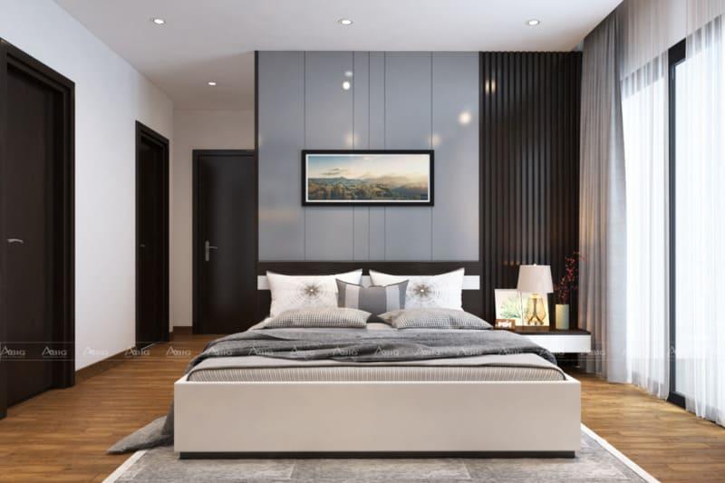 phòng ngủ phụ có diện tích và thiết kế đồng bộ