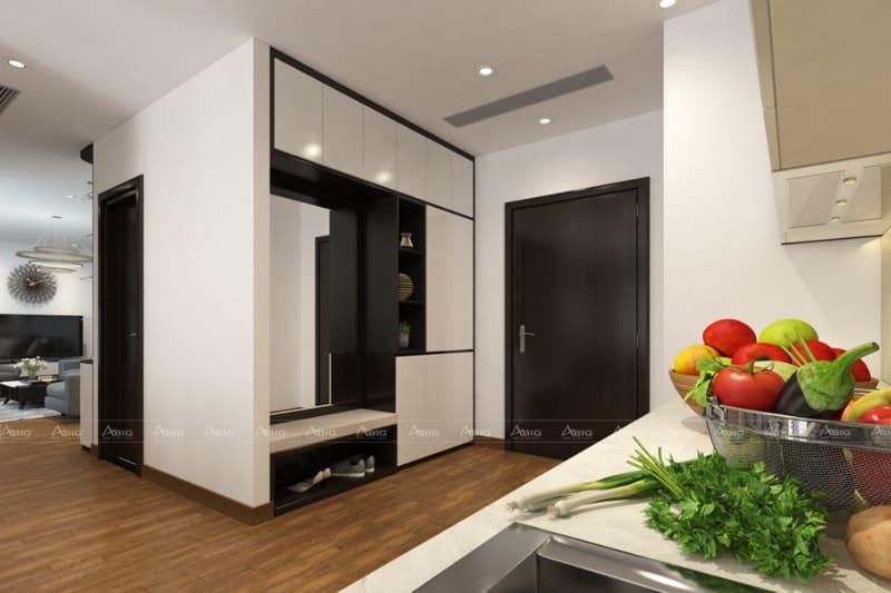 thiết kế nội thất căn hộ chung cư 3 phòng ngủ 110m2