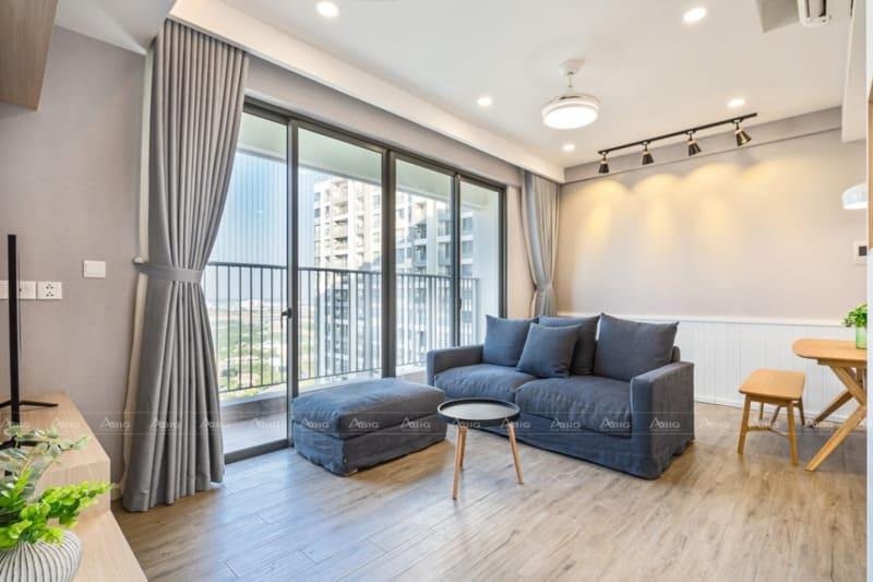 thiết kế nội thất căn hộ chung cư 3 phòng ngủ 90m2