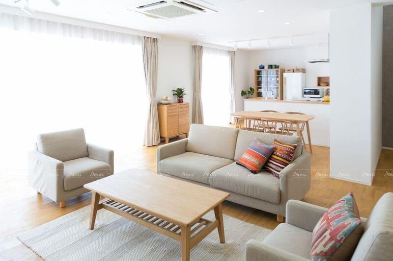 chú trọng phong cách thiết kế nội thất đơn giản