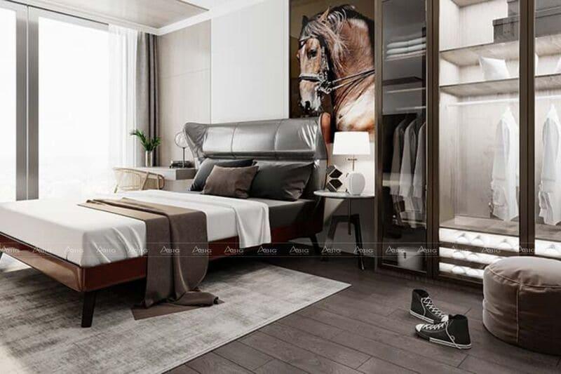 phòng ngủ thứ hai với thiết kế nhẹ nhàng tinh tế
