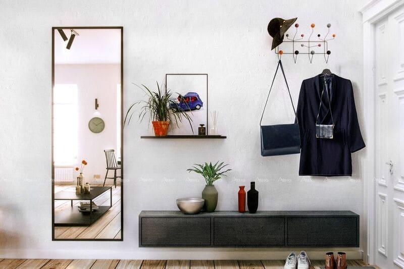 sử dụng hệ thông kệ tủ treo tường giúp tối ưu không gian và công năng