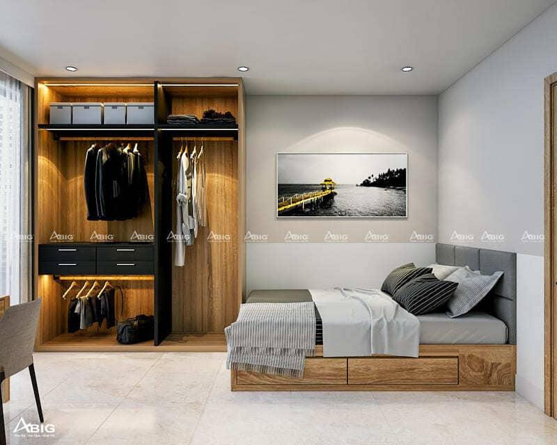 cách bố trí nội thất cho phòng ngủ vô cùng thông minh và tiện ích