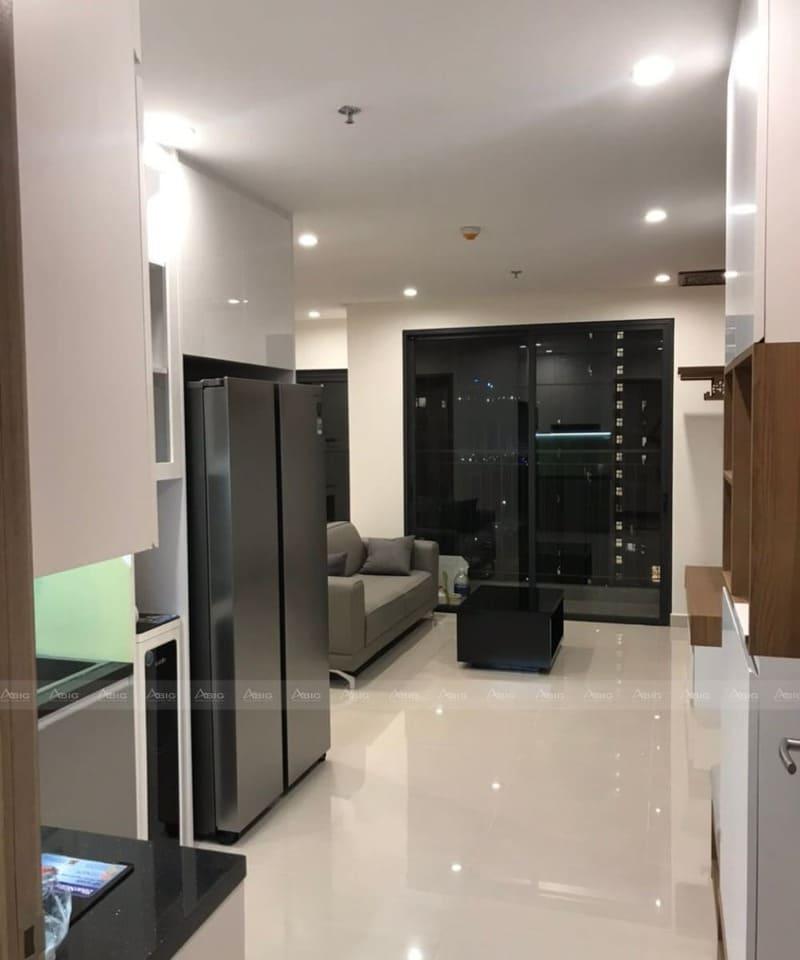 mẫu thiết kế nội thất căn hộ chung cư 2 phòng ngủ vinhomes hiện đại