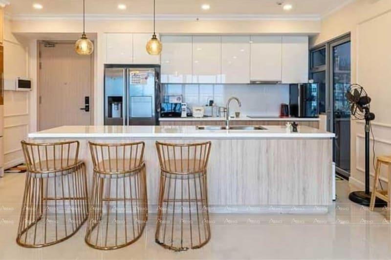 thiết kế nội thất căn hộ chung cư 2 phòng ngủ riviera point
