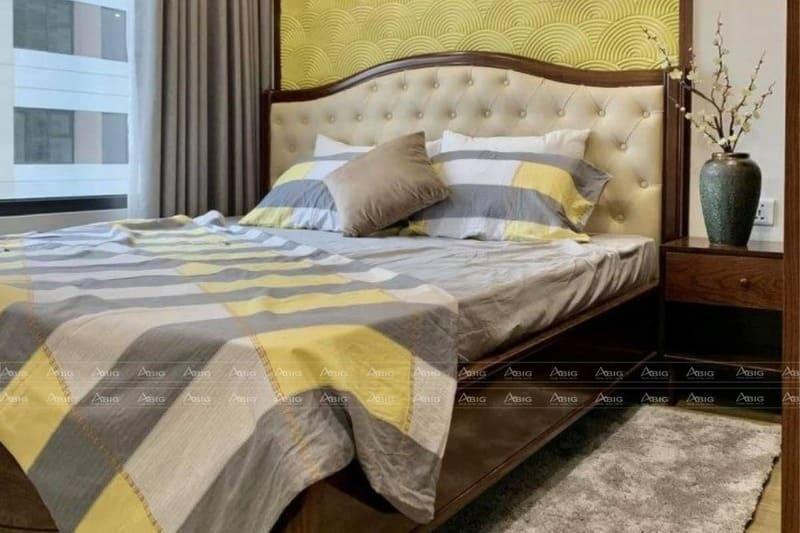 phòng ngủ với thiết kế đơn giản mang lại cảm giác thư giãn thoải mái