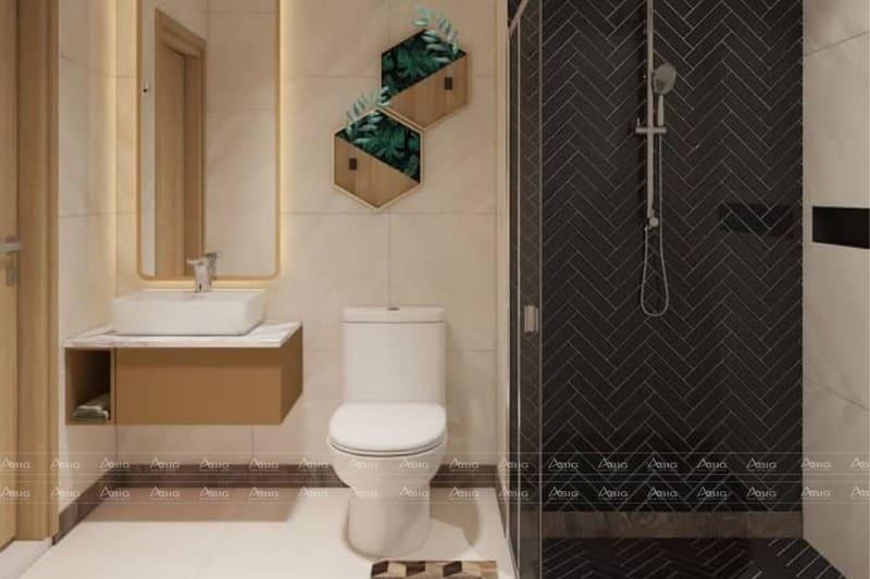 thiết kế nhà vệ sinh hiện đại tiện nghi