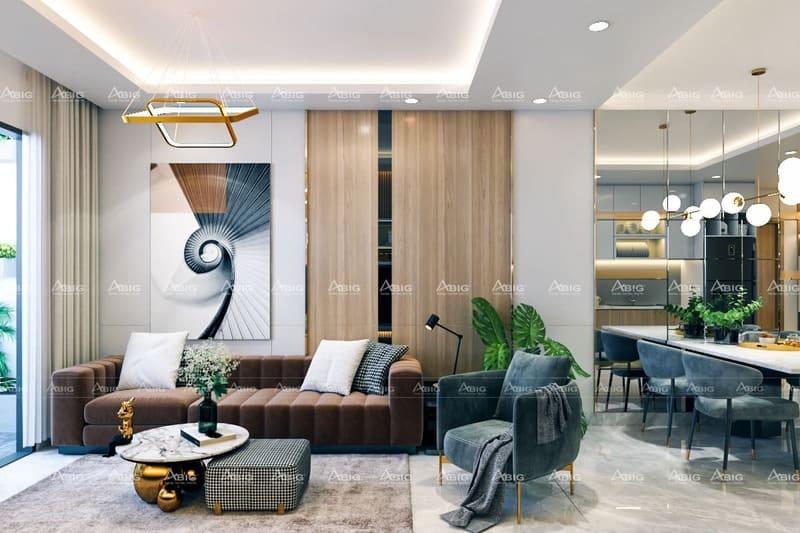 thiết kế nội thất cho căn hộ đấy sáng tạo