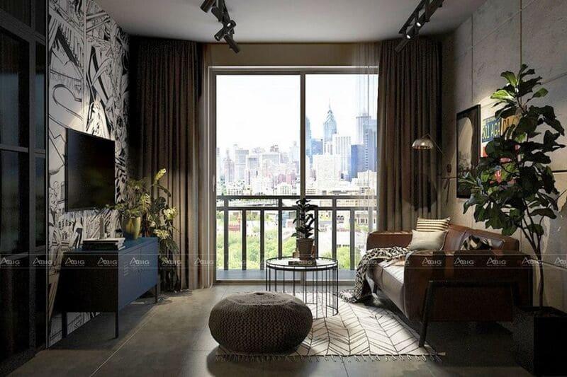 không gian căn hộ luôn tươi sáng và tràn đầy sức sống