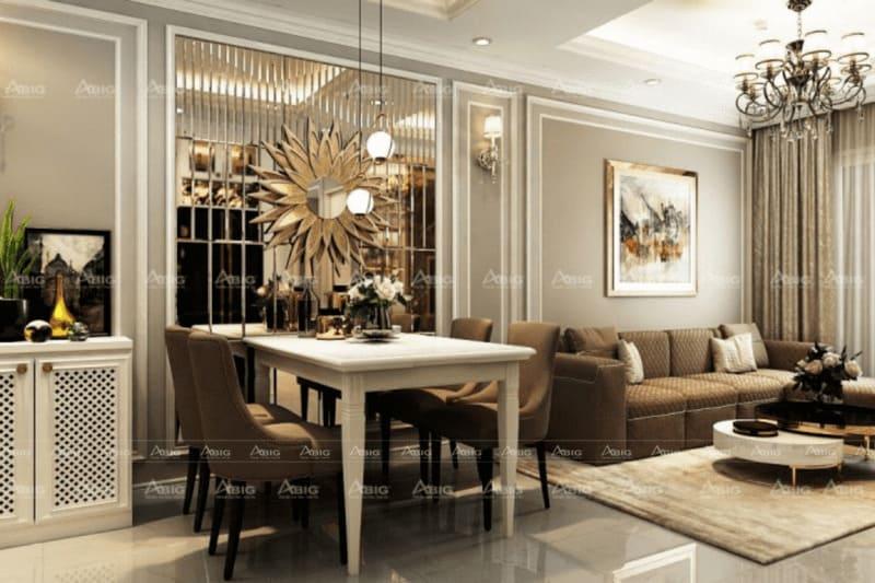 kinh nghiệm thiết kế phòng khách căn hộ 50m2