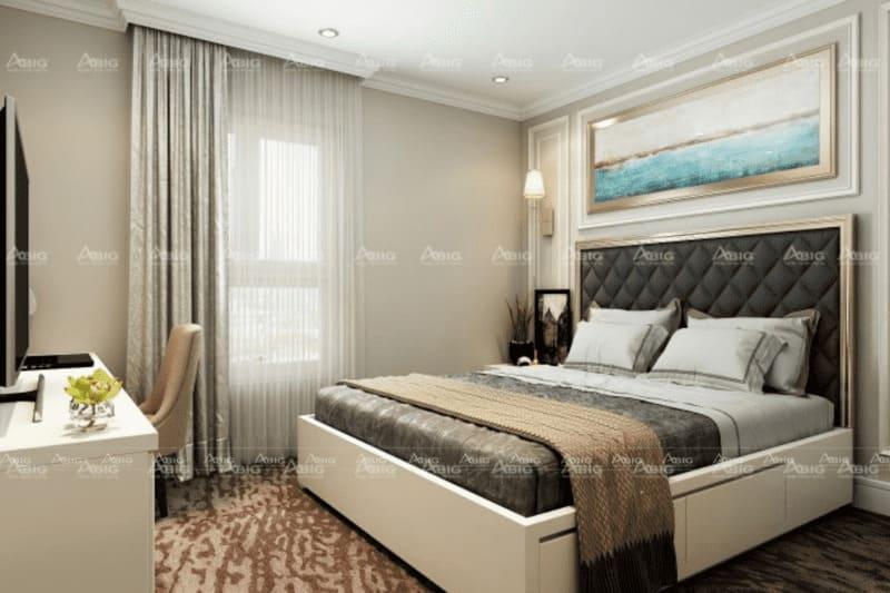 kinh nghiệm thiết kế phòng ngủ cho căn hộ nhỏ 50m2
