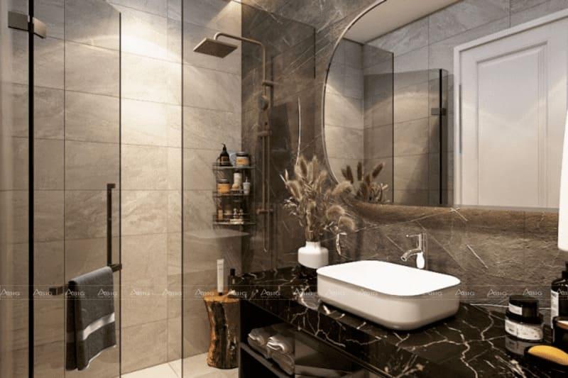 kinh nghiệm thiết kế phòng vệ sinh cho căn hộ 50m2