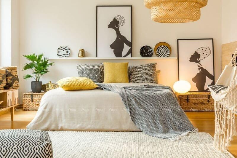 thiết kế phòng ngủ cực kỳ sáng tạo cho căn hộ nhỏ