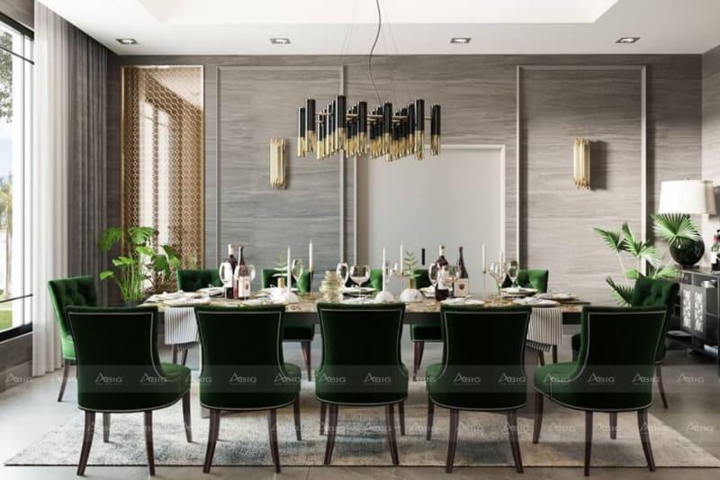 lựa chọn màu sắc chủ đạo chính là chìa khóa thành công trong thiết kế nội thất tân cổ điển