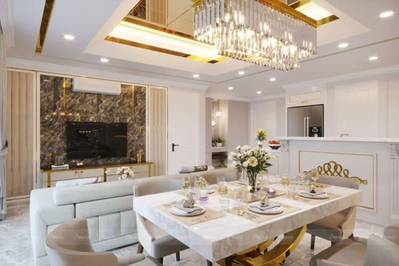 nội thất được lựa chọn phải thể hiện sự uyển chuyển trong từng đường cong và màu sắc đồng bộ hài hòa với concept tổng thể