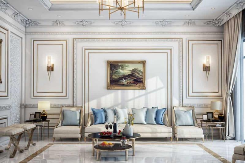 sự tinh tế và thanh tao thể hiện trong từng chi tiết nhỏ nhất của nội thất