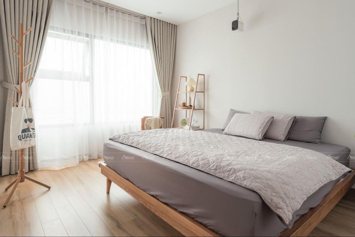 Phòng ngủ tối giản, hạn chế đồ nội thất dư thừa
