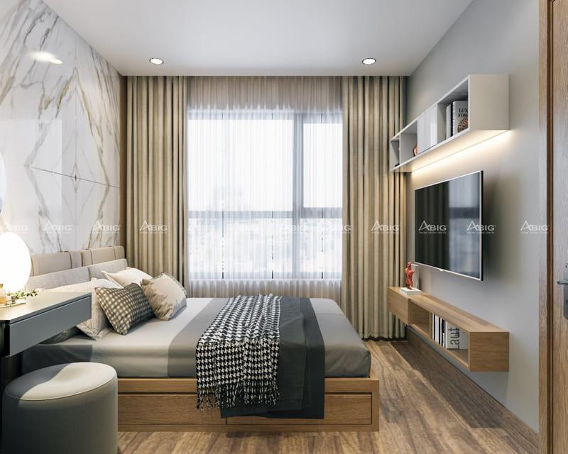 Thiết kế phòng ngủ bắt mắt và đầy đủ tiện nghi