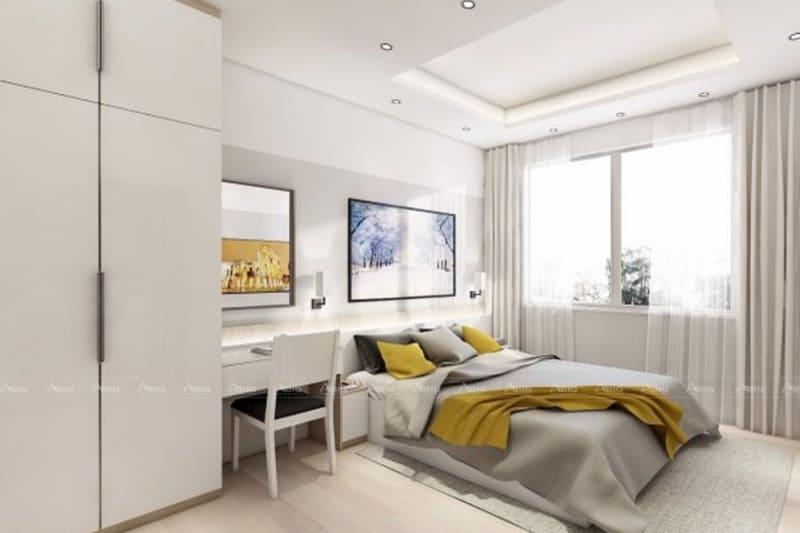 Thiết kế phòng ngủ cho người lớn đơn giản nhưng vẫn đảm bảo sự tiện nghi cần thiết