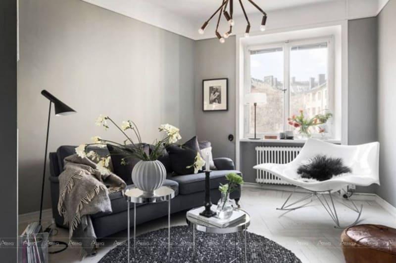 Sử dụng đồ nội thất màu trắng để không gian nhẹ nhàng hơn