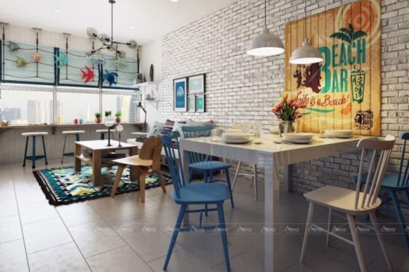Không gian phòng ăn gia đình