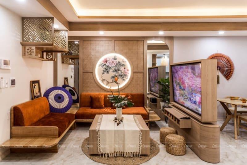Phòng khách theo phong cách Nhật Bản