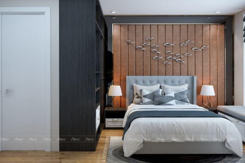 Không gian trang nhã cho phòng ngủ