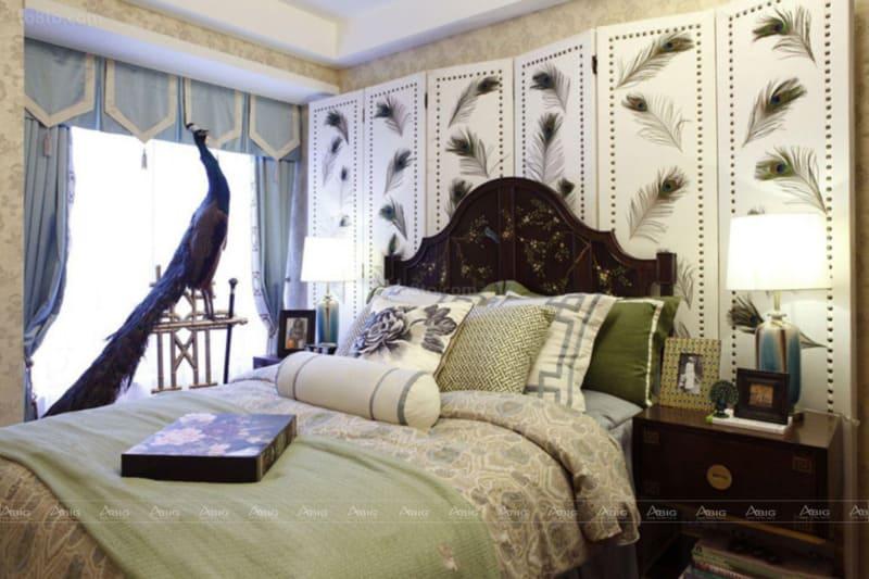 Phòng ngủ mang đậm chất Á Đông
