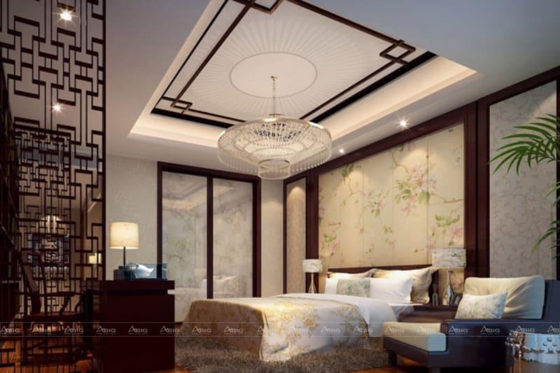 Chất liệu và cách trang trí phòng ngủ theo hướng cổ xưa
