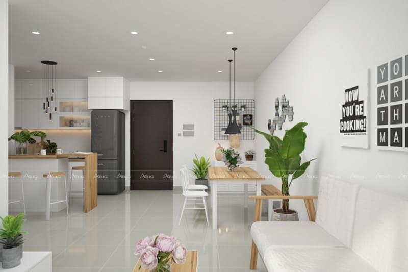 Đặt cây xanh trong nhà để tạo không khí tươi mới