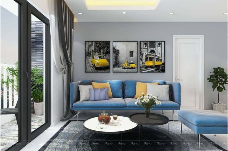 Mẫu thiết kế nội thất chung cư 90m2 lý tưởng