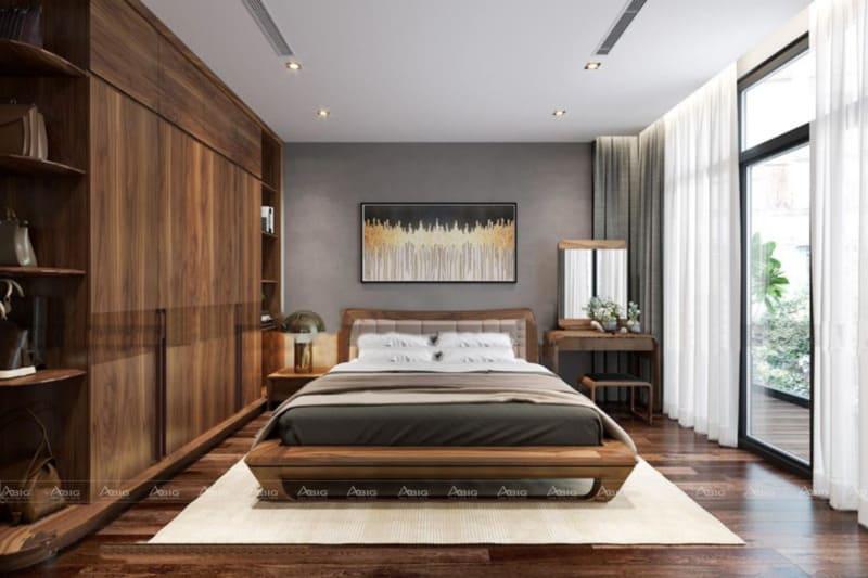 Bức họa, thảm trải sàn và rèm cửa sẽ khiến không gian nền nã hơn
